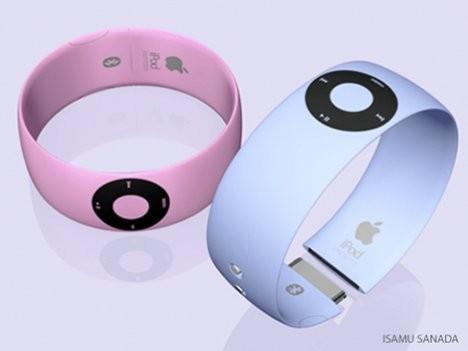 Концепт: iPod Shuffle в виде браслета