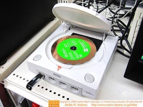 Компьютер в виде Sega Dreamcast