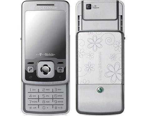 Телефон для девушек Sony Ericsson T303 Daisy Edition