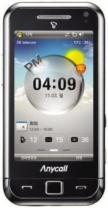Samsung T-OMNIA – телефон с 806-мегагерцовым процессором