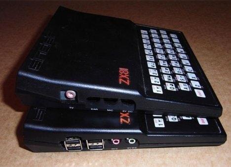 Современный компьютер в корпусе Sinclair ZX81