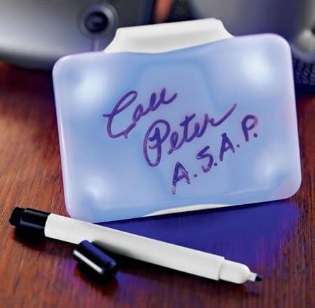 Гаджет для напоминаний Flashing Dry Erase Memo Board