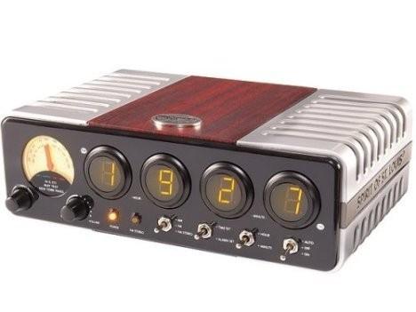 Ретробудильник St. Louis Aerial Clock Radio