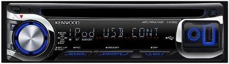 Kenwood I-K50 – автомобильная аудиосистема с поддержкой iPod и iPhone