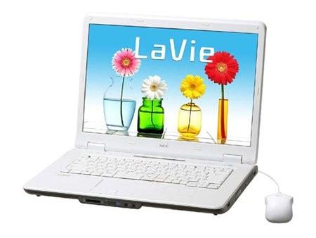 Новая серия ноутбуков NEC LaVie L