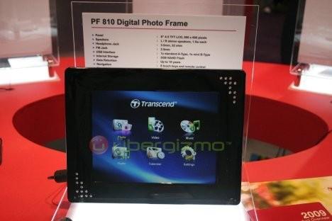 Цифровая фоторамка Transcend PF810