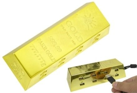 Thankos Gold Ingot USB Hub: для пиратов?