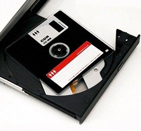 CD-R диск в виде дискеты