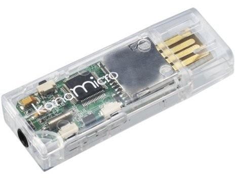 Kana-Micro – миниатюрный аудиоплеер