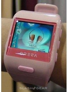 Часы с медиаплеером DigiFi Opera PMP Watch