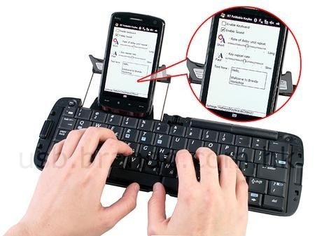 Раскладная Bluetooth-клавиатура MSI BK100