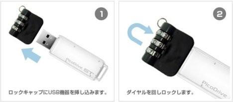 Замок для USB-флешек