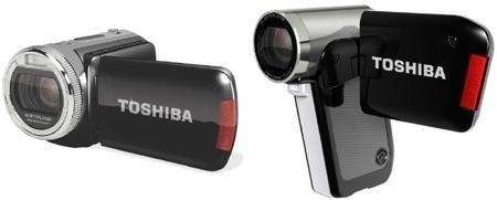 HD-видеокамеры Toshiba Camileo P30 и H20