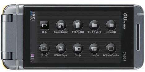 Телефон с сенсорным экраном