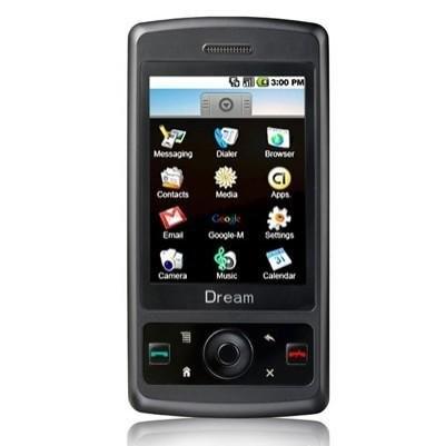 Dream G200i – новый смартфон, использующий Google Android