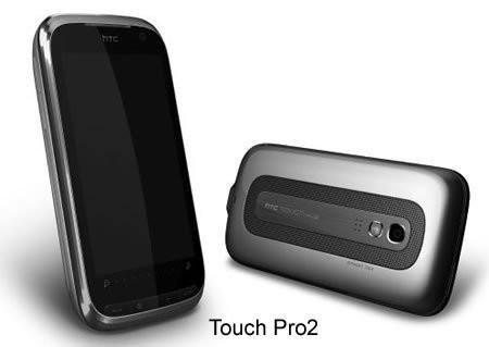 Новые коммуникаторы HTC Touch Diamond2 и Touch Pro2