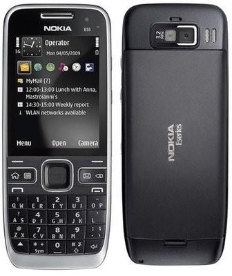 Nokia E55 – компактный QWERTY-телефон