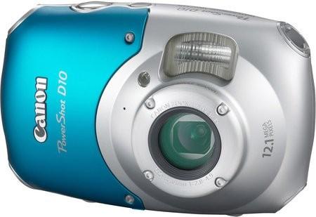 PowerShot D10 – первая сверхпрочная фотокамера от Canon