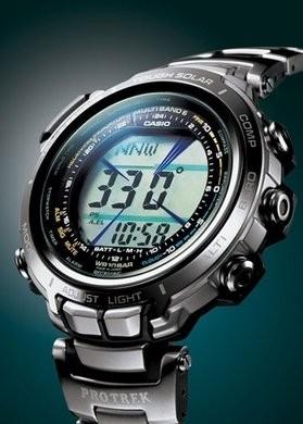 Новые часы Casio из серии Protrek
