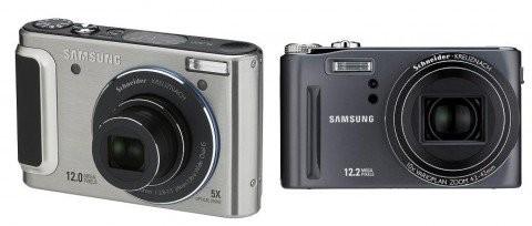 Новые фотокамеры Samsung TL320 и HZ15W