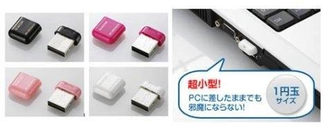 Elecom MR-SMC03 - миниатюрный кардридер