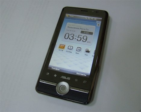 P835 – новый тачфон от ASUS