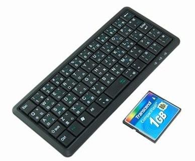 Самая маленькая в мире клавиатура
