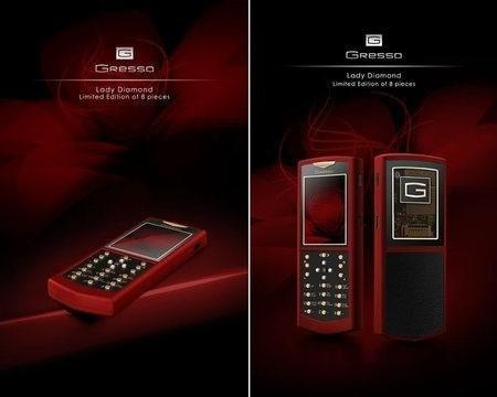 Greeso Lady Diamond – дорогой телефон для женщин