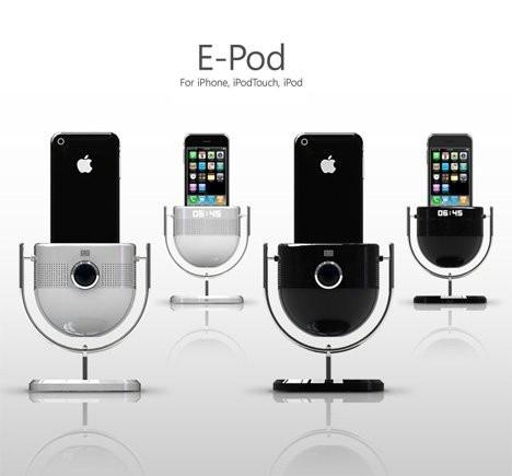 E-Pod Dock – оригинальная док-станция для iPod