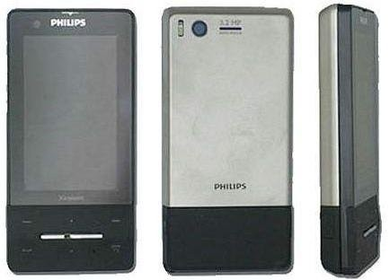 Xenium X810 – телефон с сенсорным экраном от Philips