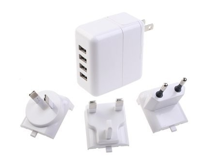 Зарядное устройство для пяти USB-гаджетов