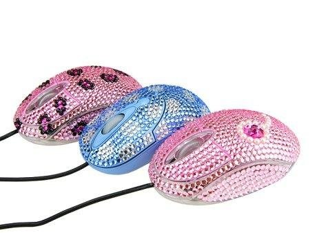 Гламурная мышь Bling Bling USB Optical Mouse