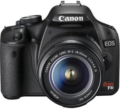 Новая цифровая зеркалка Canon EOS Digital Rebel T1i