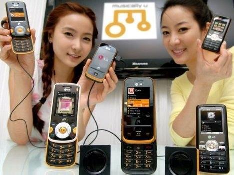 Музыкальный телефон LG-GM310