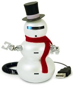 Snowbot - робот-снеговик