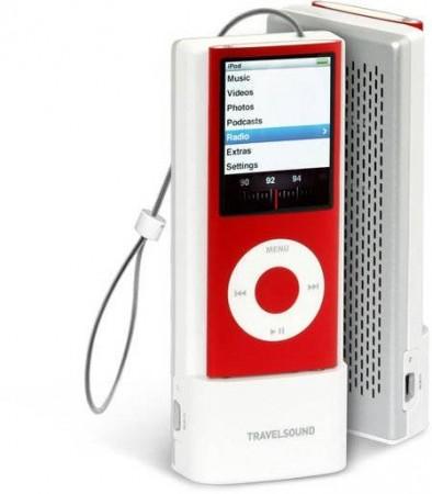 Creative TravelSound – портативный динамик для iPod Nano