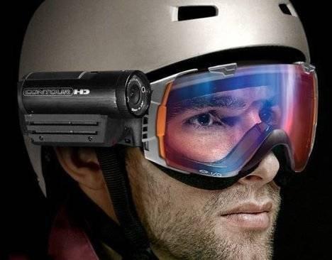 VholdR ContourHD – шлем с HD-видеокамерой