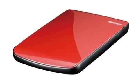Портативный накопитель Buffalo MiniStation Red