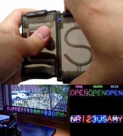 NeonClick - собери неоновую вывсеку