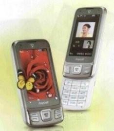 Телефон с инфракрасной камерой Samsung SCH-W760