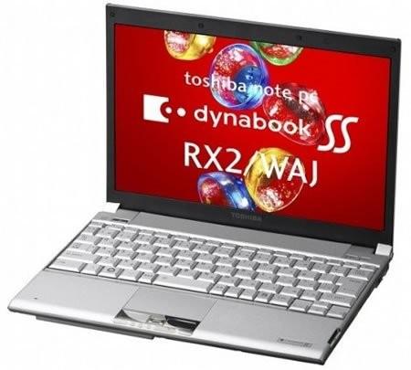 Toshiba Dynabook SS RX2/WAJ – первый ноутбук с 512-гигабайтным SSD-накопителем