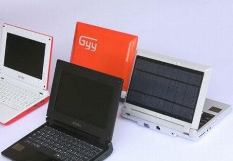 iUnika GYY – нетбук на солнечных батареях