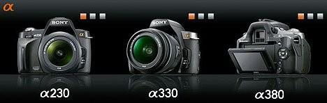 Новые зеркальные камеры Sony для непрофессионалов