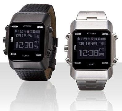 Новые часы с Bluetooth от Citizen