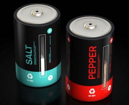 Батарейки «Соль и перец» – заряди свою еду!