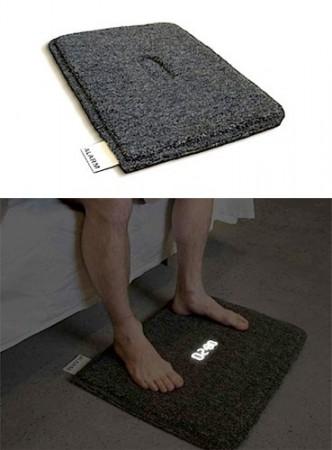 Будильный коврик