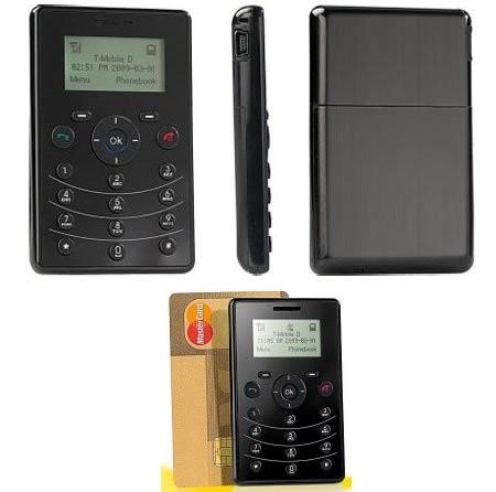 Simvalley PICO RX-80 – мобильник размером с кредитную карту