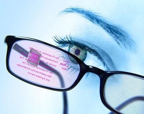 Мини-дисплей в очках