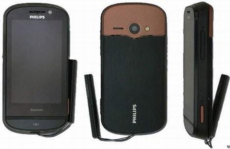 Philips Xenium X830 - телефон с 5-мегапиксельной камерой