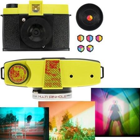Diana Multi-Pinhole Operator camera в стиле ретро